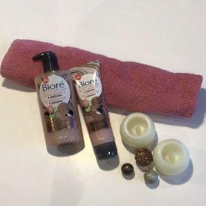 Bioré Rose Quartz + Charcoal Bundle